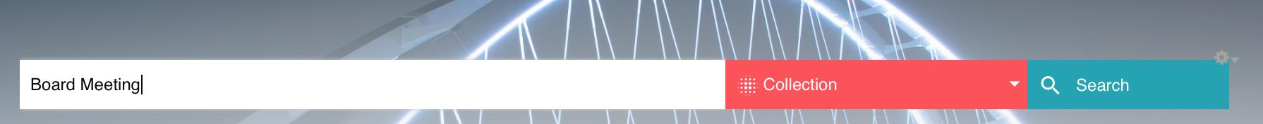 search bar option